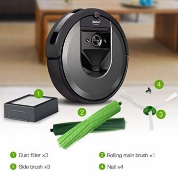 ABClife Ersatzkit Zubehör für iRobot Roomba i7 i7+