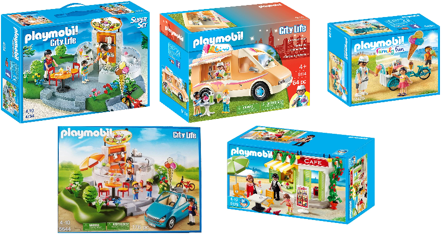 Playmobil Eisverkäufer auf einen Blick