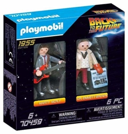 PLAYMOBIL 70459 Marty Mcfly und Dr. Emmett Brown