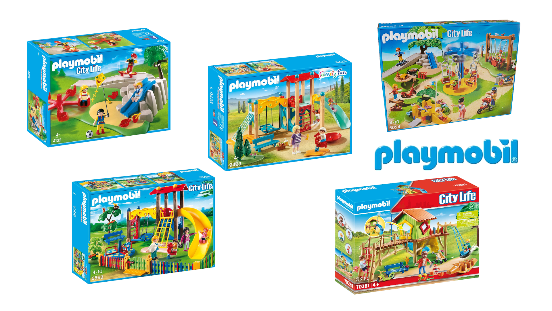 Playmobil Spielplätze
