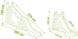 Smoby Rutsche XXL 310260 Megagliss
