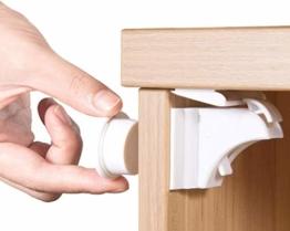 Norjews Magnetisches Schrankschloss 20 Schlösser + 3 Schlüssel