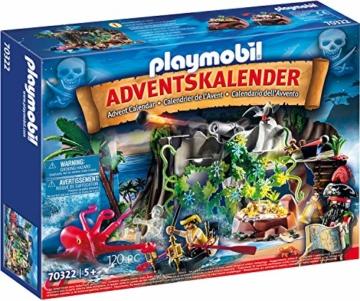 PLAYMOBIL 70322 Adventskalender Schatzsuche in der Piratenbucht