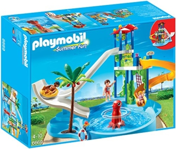 Playmobil 6669 - der ultimative Aquapark mit Rutschentower