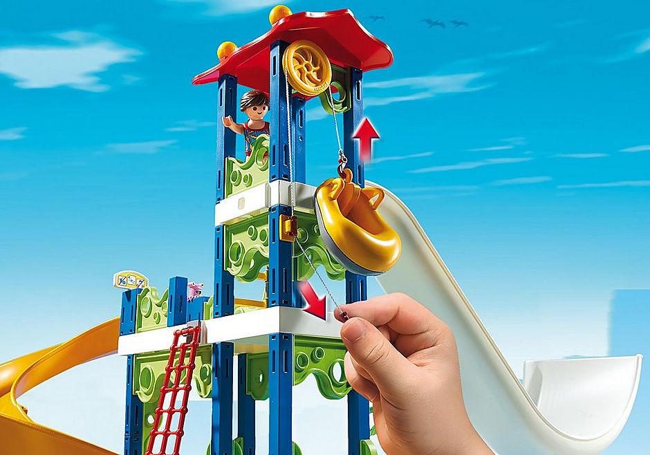 Den Seilzug wirst Du nicht häufig benutzen im Playmobil 6669 Aquapark