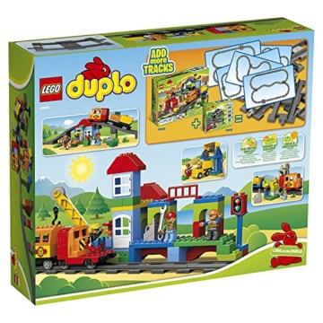 Lego 10508 - die Verpackung der Eisenbahn