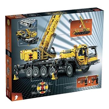 LEGO 42009 - die Rückseite des Kartons mit Ansicht der Funktionen
