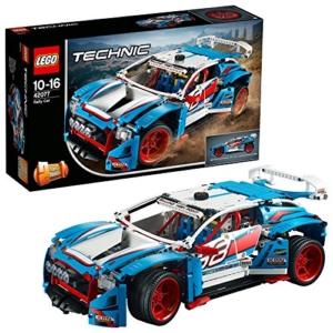 lego technic 42077 rallyeauto set fuer geuebte baumeister 1
