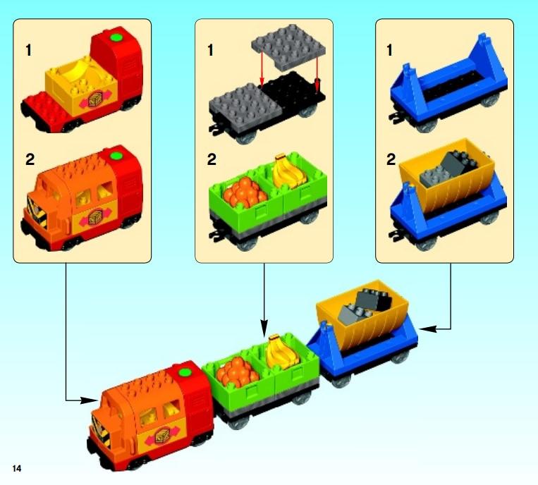 Lego 10508 - der Zusammenbau mit Bauanleitung