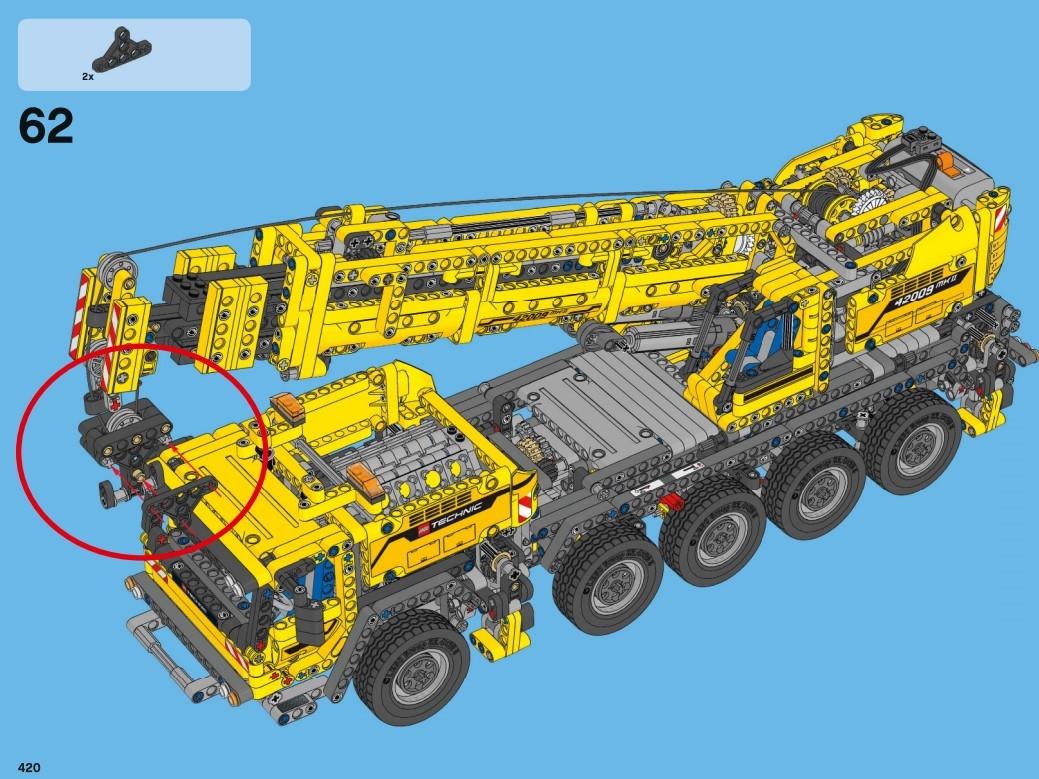 LEGO 42009 - die Bauanleitung zum A-Modell
