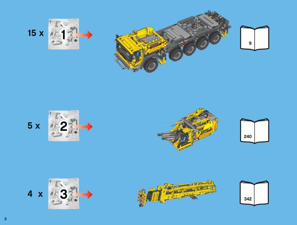 Lego 42009 - Schritt für Schritt zum A-Modell