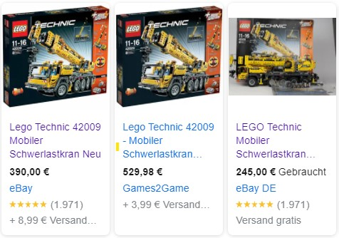 Lego 42009 neu und gebraucht günstig kaufen
