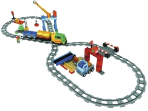 Lego 5609 - das Duplo Eisenbahn Superset aus dem Jahr 2008