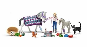 Schleich 98269 Inhalt Pferde, Tiere und Menschen