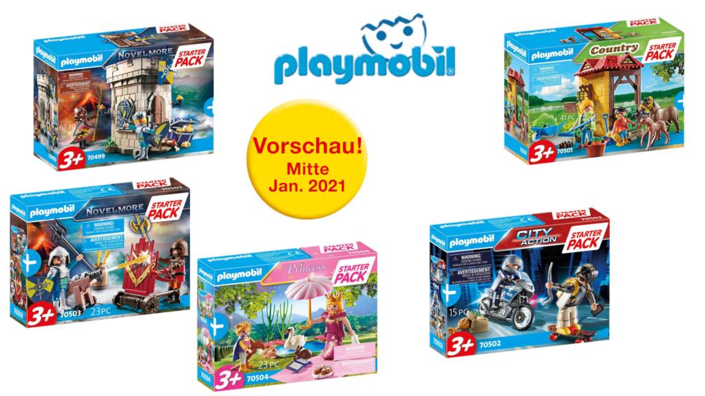 Playmobil 2021 - extrem viele überraschende Neuheiten im PDF Katalog