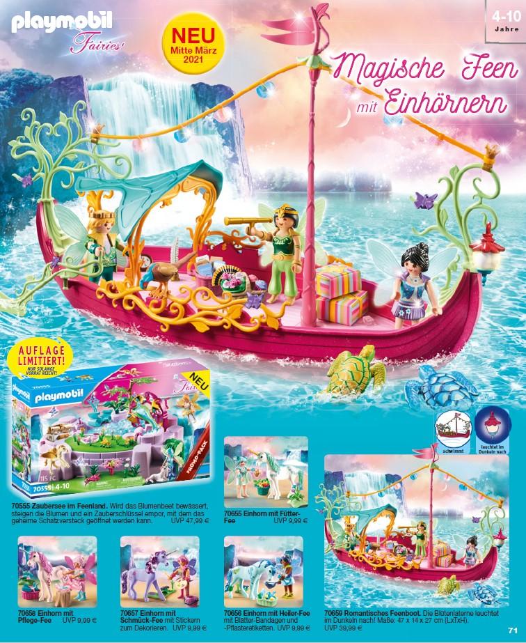 Neue Playmobil Fairies Erweiterungen ab 19. März