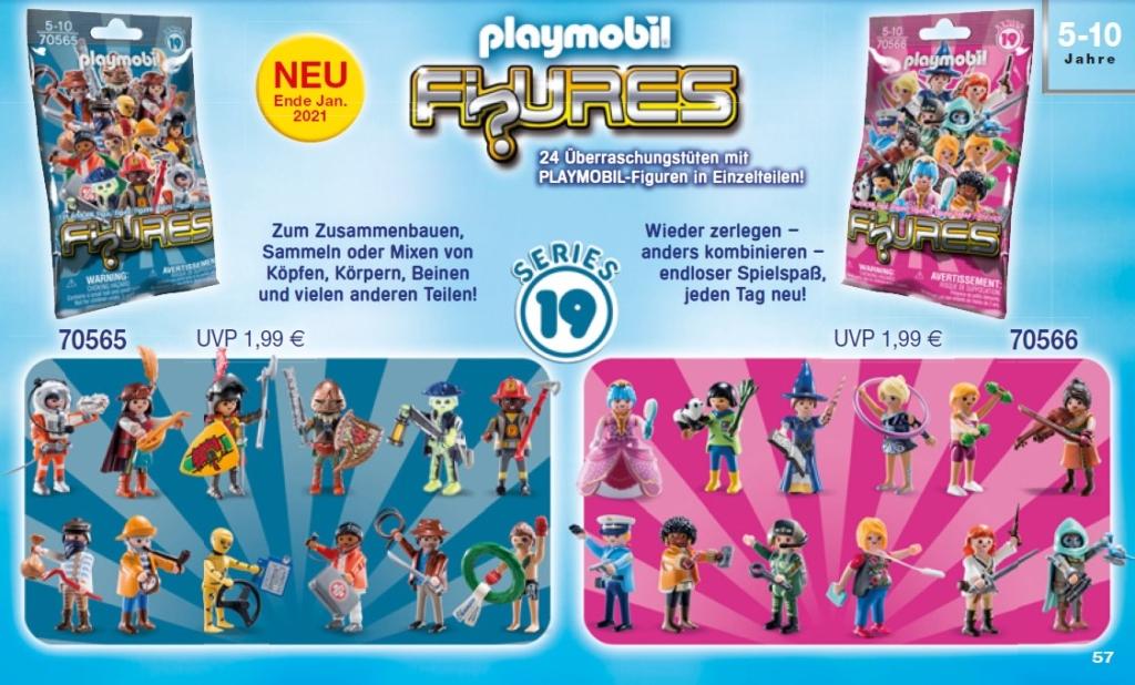 Playmobil Figures Neuheiten: Series 19 ab Ende Januar 2021