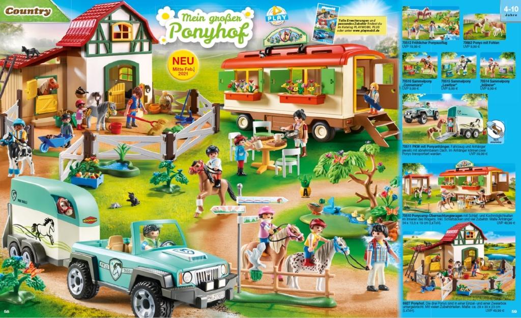 8 tierische Playmobil Neuheiten: Mein großer Ponyhof ab Februar 2021