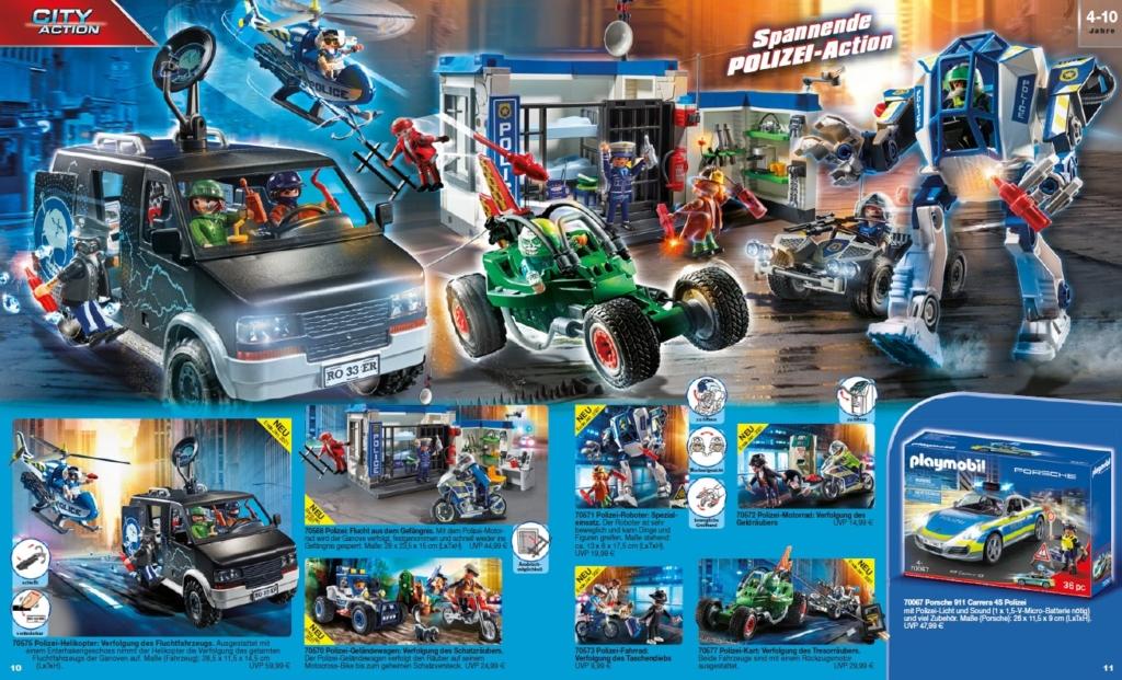 Neue Playmobil Polizei Ergänzungen ab Ende Januar 2021