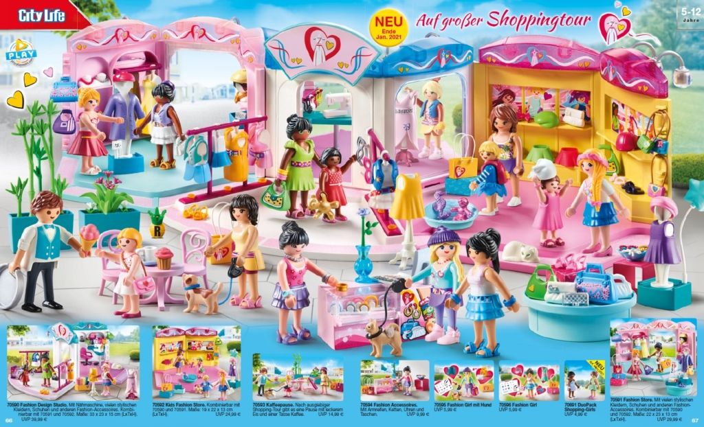 Playmobil - auf großer Shoppingtour 2021