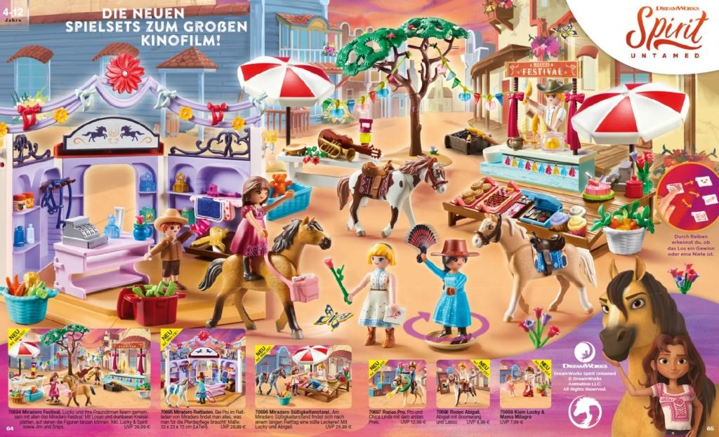 6 neue Playmobil Spirit Artikel mit Lucky und Freunden