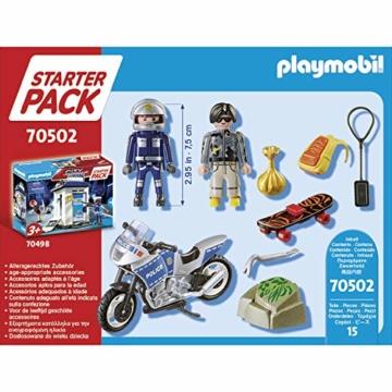 Playmobil 70502 - Starterpack Polizei Playmobil 2021 Inhalt